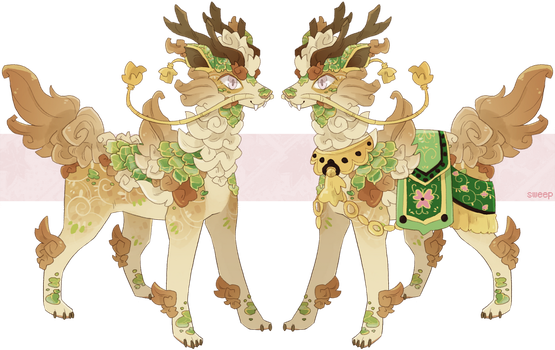 :Sulke: Jade Guardian Auction {CLOSED} by SweepAdopts