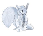 Guitar Pose Premed (UPDATE) by KaylaCreatures