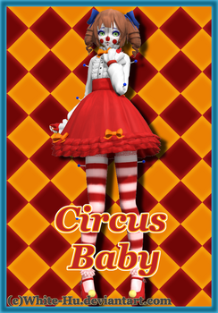 FNAF SL Circus Baby *Update once more* by White-Hu