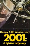 2001 A Space Odyssey 50 by mrentertainment