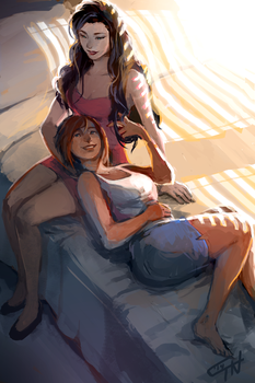 Secret Avatar 2014 - Korrasami by c-dra