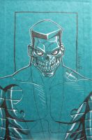 zombie colossus by JJKirby