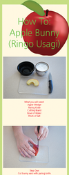 How To: Apple Bunny by Demi-Plum