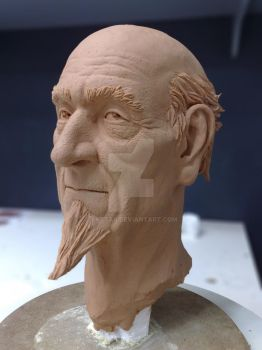 Old Mage Sculpture by SaTTaR