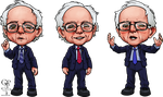 Bernie Sanders Caricatures by ghostfire