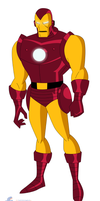 Iron Man - Bruce Timm style by JTSEntertainment