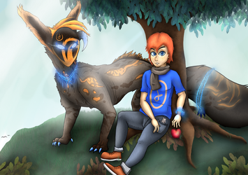 (CM) Kou and Dad - The Hunter's Dream by HashSlash