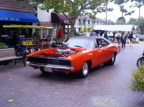 1968 Dodge Charger hemi 528 by Partywave