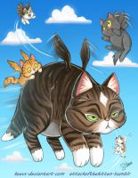 The Joys of being a Mom - Caturday by keevs
