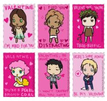 Hunger Games Valentines by finnodair