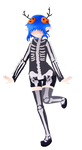 Oc Costumes Day Three  Skeleton By Lumipop-d9c6n71 by LumiPop