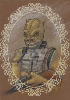 Bounty Hunter: Bossk by spelleria