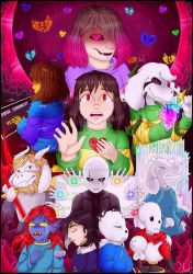 My promise - Glitchtale Overview by AuraGoddess