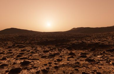 Martian evening by Bull53Y3