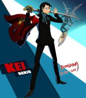 Commission: Kei Nanjo - Persona 4 Arena Ultimax by DeathNapalm