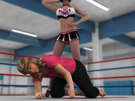 Anne Carter vs Kelly Montana 7 SA 02 by PhoenixCreed