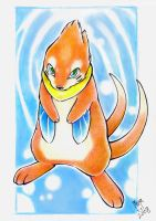 Pokemon: Buizel - Emerald eyes