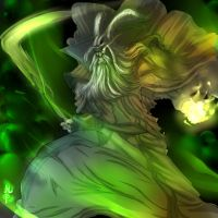 Dota Necromancer Color by ManiacPaint