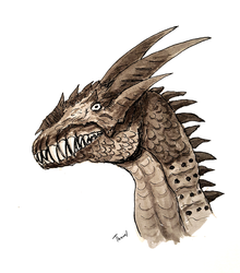 Dracolisk by Thuviel