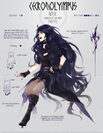 Chronolympus: Nyx by VonnaBeee