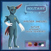 Night Baskers: Characters - Solitaire by MiaMaha