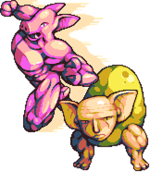 [STAND NAME] : PIG RUN by Dr-Shellos
