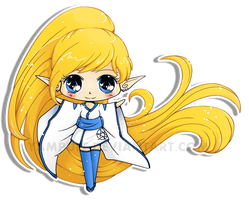 Leina Chibi Contest Entry by YamPuff