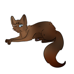 Buzzsong - Warrior Cats OC by P0is0NR4iN
