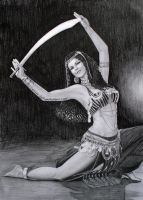 Dancing With a Sabre by xDREAMHUNTRESSx