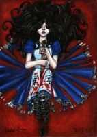 +Alice and Her Blade+ by MaliciousMisery