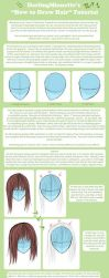 Tutorial - How To Draw Hair 1 by DarlingMionette