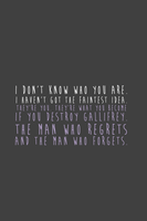 SPOILER - Regrets and Forgets by inkandstardust