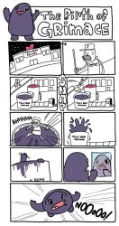 The Birth of Grimace by kidsrsmelly