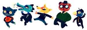 Night In The Woods by afroclown