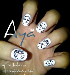 Meme Nail Art By Ayooshie On Deviantart