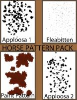 horse pattern pack by horsecrazy2010