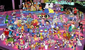 Cartoons DiscoFever 2015 by mikevongkeomany1990
