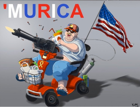 'MURICA by gameover89