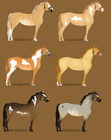 Natural Eventing Mares Batch 1 REDUCED by WickedConfession