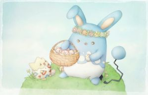 Easter Azumarill