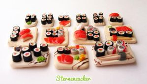 Sushi with Salmon by leinchen