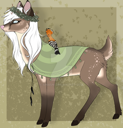 Forest deer lady OTA CLOSED by Sinasni