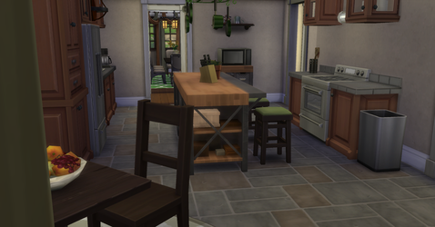 Greenville Kitchen by BUILDSims