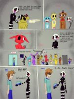 The Puppet and the Night Guard Page 4 by Puppet-Marrionette