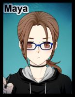 Myself anime style by Mayamermaid