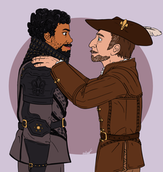 BBC The Musketeers by Dragimal