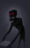 MC - Enderman by SuperKusoKao