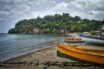 Abandoned Beach - St. Lucia by FinelliFotography