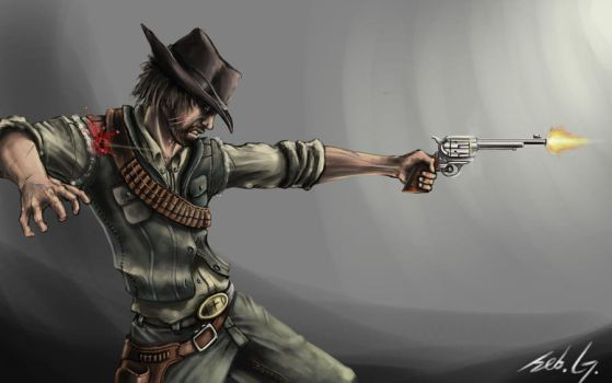 Red Dead Redemption by Mihawq