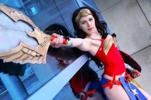 Ame-Comi Wonder Woman by shelle-chii